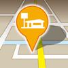 探したいお店が見つかる!周辺検索ナビ(コンビニ,カフェ,駐車場,ファミレス,ラーメン,ガソリンスタンド)
