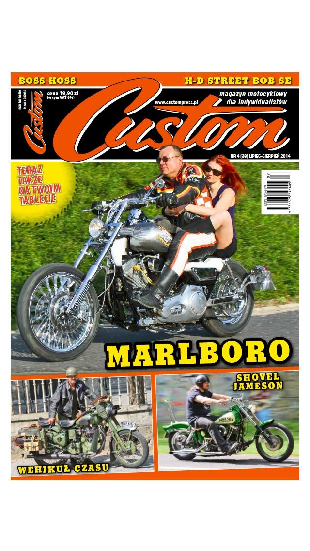 Custom magazyn motocyklowy screenshot three