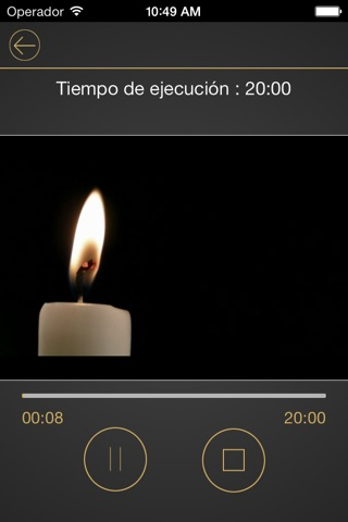 iMeditation Spanish screenshot 2