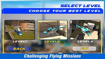 市ヘリコプターフライングシミュレーター - アーバンランド上空を飛ぶ航空ヘリコプターのスクリーンショット4