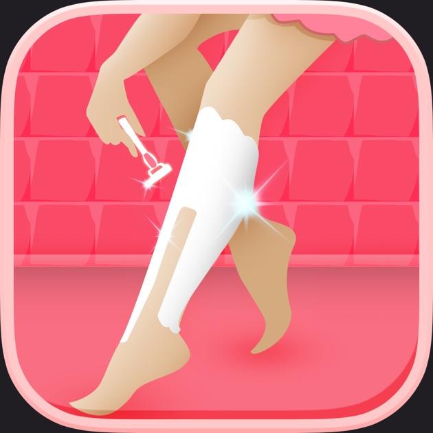 Nail Girl Games: A Little Princess Leg Shave Spa & Salon
