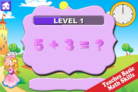 Wee Princess Math screenshot 1