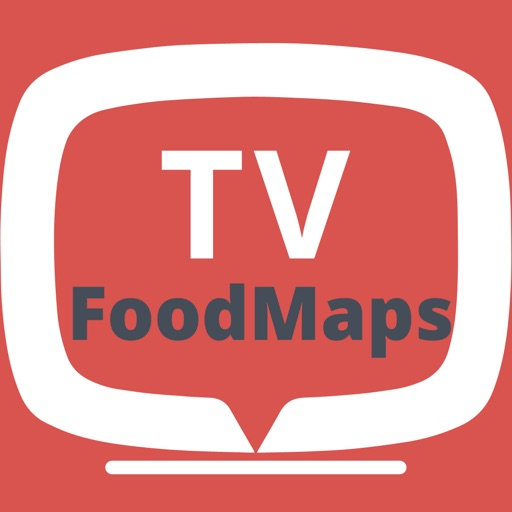 TV Food Maps - Restaurants on TV, Road Trip Planner, Diners, Drive-Ins & Dives, Man vs. Food & More App Ranking & Review