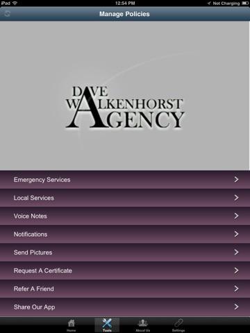 Dave Walkenhorst Agency HD screenshot 2