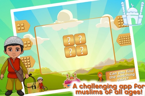 Islamic World - Match It! Games Edition Islamic Matching Pairs screenshot 4