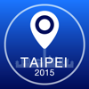 Taipei Offline Map + City Guide Navigator, Attractions and Transports