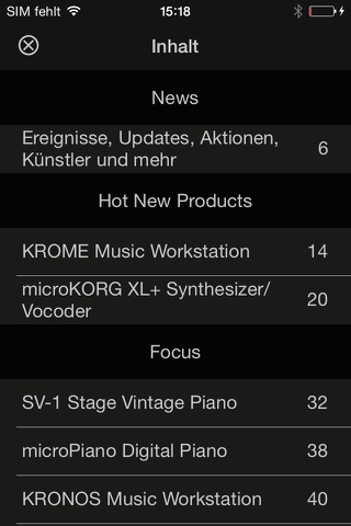 KORG Kiosk screenshot 4