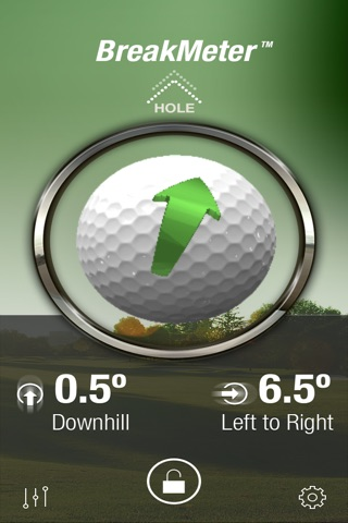 BreakMeter - the Golf Green Reader screenshot 1