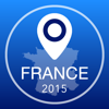 France Offline Map + City Guide Navigator, Attractions and Transports