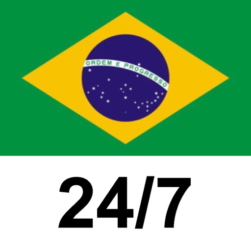 Portuguese (Brazil) FREE 24/7 Language Learning iOS App