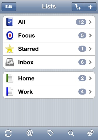 Todo 6 (for devices that cannot upgrade to version 8) screenshot 2