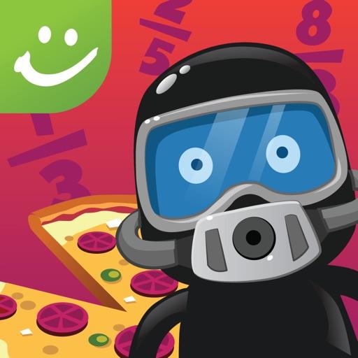 Pizza Party Math: Fun with Fractions - A Sylvan Edge App iOS App