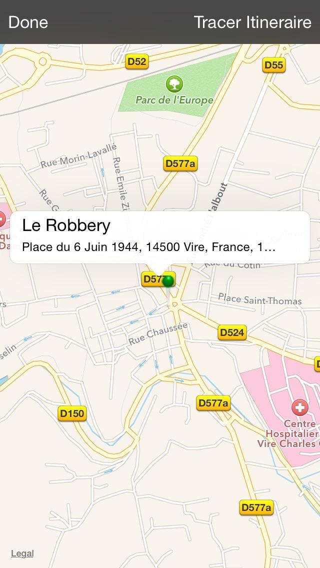 Le RobberyCapture d'écran de 4