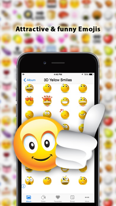 download Emoji - Free Color Emojis stickers for whatsapp, Facebook, Messages & Email apps 2