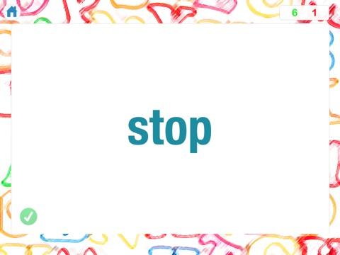 Screenshot #3 for Sight Words by Teach Speech Apps