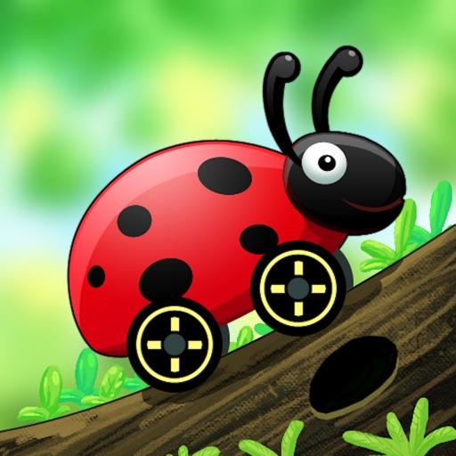 Hill Climb Race : Bug Climbing iOS App