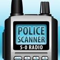 5-0 Radio Pro Police Scanner (Extra Feeds) icon
