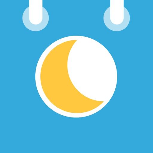 月の満ち欠けカレンダ (MoonCal)