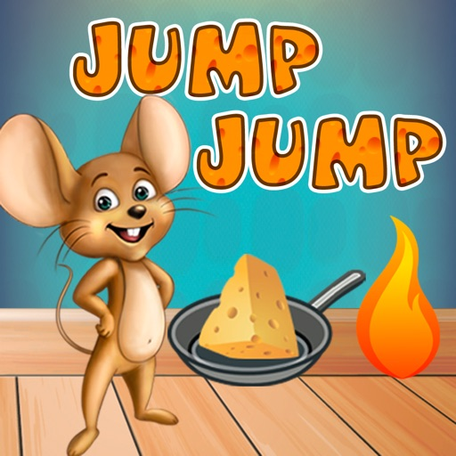 Mouse Jump-Jump: Game About Cheese and Flame iOS App