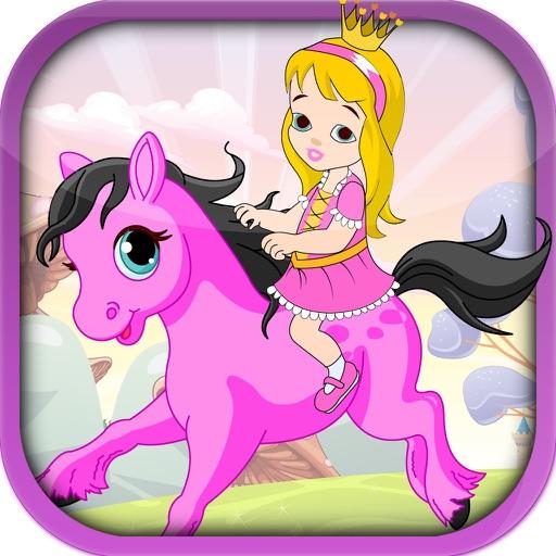 Pretty Pony Princess Ride - A Running Horse Adventure iOS App