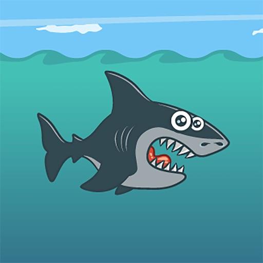 Hungry Stunt Shark - Undersea Games For Kids Boys & Baby Girls iOS App