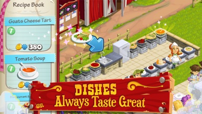Screenshots of Gourmet Ranch: Farm, Cook and Serve for iPhone