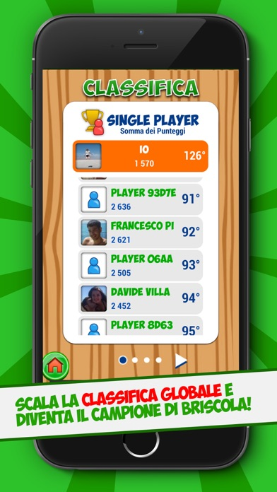 Screenshot of Briscola Free5