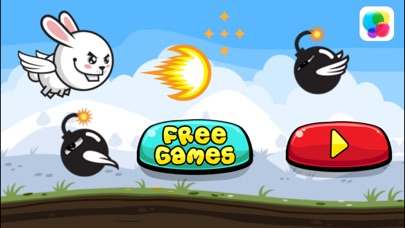 download Aaah! It's Flappy the Crazy Rabbit Vs Angry Clumsy Bombs! Christmas HD Free Edition apps 2