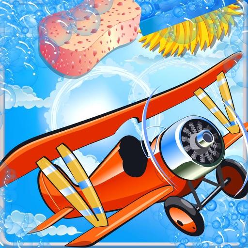 Plane wash – Kids auto salon washing game and repair shop iOS App