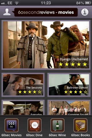 60secondreviews Movies screenshot 1