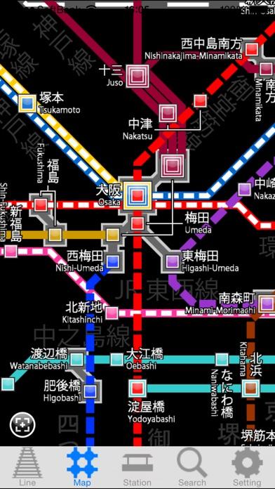 関西路線マップ screenshot1