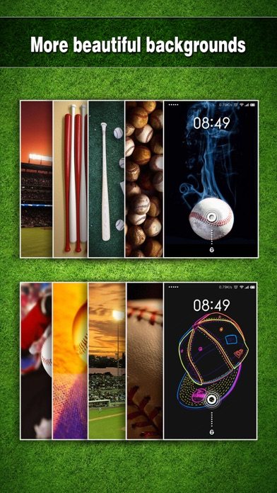 Screenshots of Baseball Wallpapers HD - Backgrounds & Home Screen Maker with Sports Pictures for iPhone