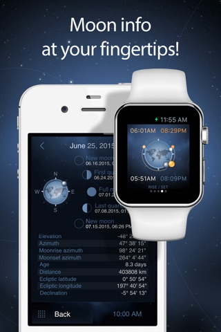 Deluxe Moon Pro - Moon Phases Calendar screenshot 2