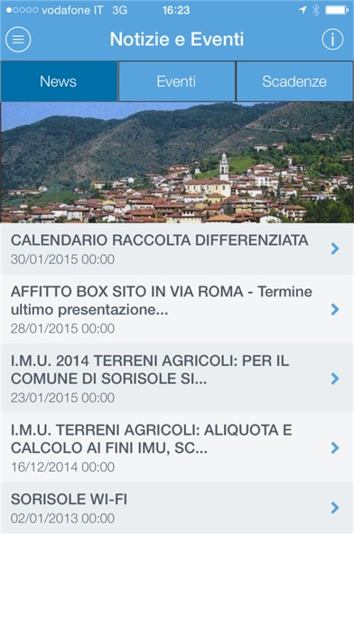 Screenshot of SmartCity Sorisole2