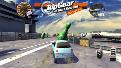 Screenshots of Top Gear: Stunt School Revolution for iPhone