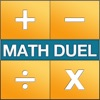 Aplikasi Math Duel - Two Player Split Screen Mathematical Game for Kids and Adults Training - Addition, Subtraction, Multiplication and Division! untuk iPhone / iPad