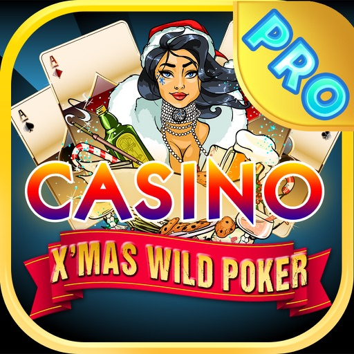 X'mas Wild Poker PRO - Play the All New 2014 Christmas Video Poker Game for Free ! iOS App