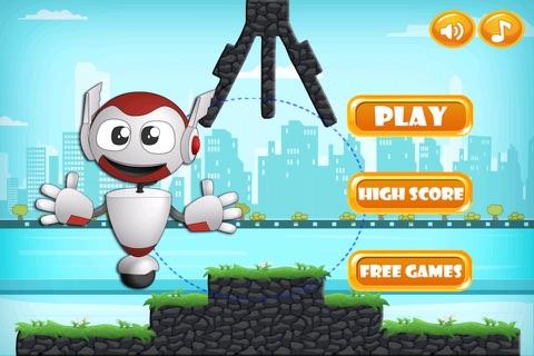 Hero Challenge - Swinging Robot Mania screenshot 1