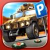 Army Truck Car Parking Simulator - Real Monster Tank Driving Test Racing Run Race Games