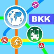 曼谷(泰国)地图 – 下载交通地图和旅游指南 [iOS]