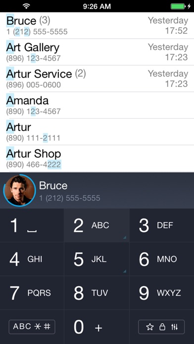 iCaller - T9 set, fast, search Screenshots