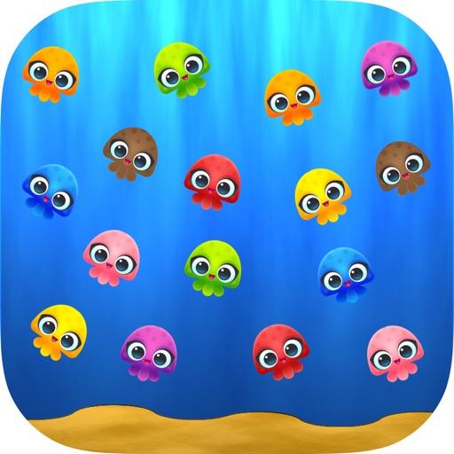 Jellyfish Cute Match Link Mania Soda Saga : 2d Puzzle Game iOS App