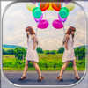 Mirror Effect Photo Collage Maker – Awesome Camera Editor with Captions and Stickers for Pics