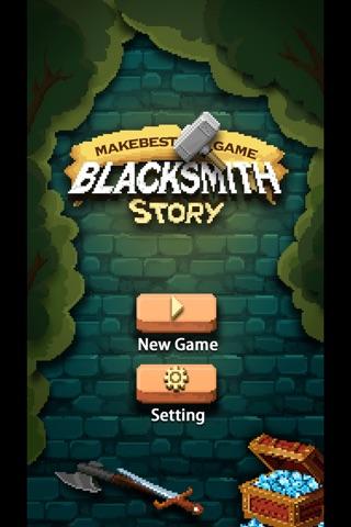 Blacksmith Story HD screenshot 1