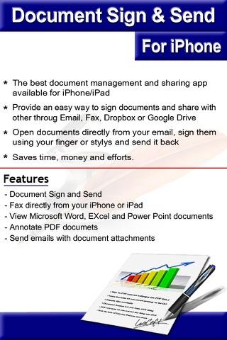 Document Sign & Send screenshot 4