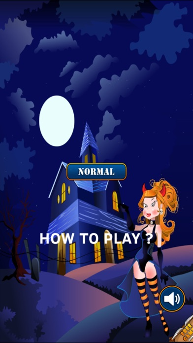 A Monster Girl Escape - Dark Vampire Speed Rush Screenshot on iOS