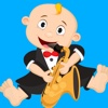 Baby Milo Music Instruments Cartoon
