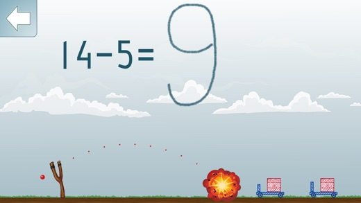 Math Shot Subtraction Screenshots