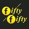 Fifty Fifty Taxi Bratislava logo