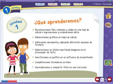 Tecnología 5º Básico screenshot 2